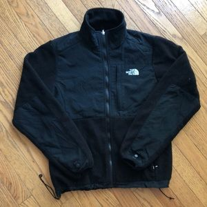 Black NorthFace fleece zip up